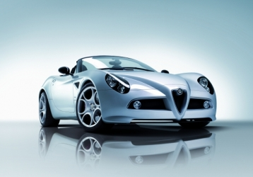Alfa Romeo 8C Spider Coupe Convertible