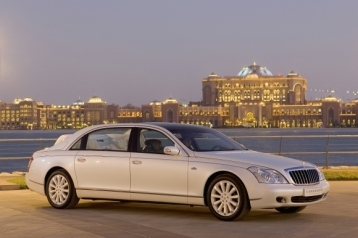 Maybach Landaulet Sedan Convertible