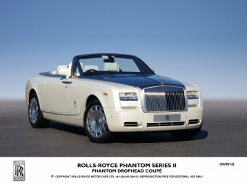 Rolls Royce Phantom Drophead Convertible Coupe