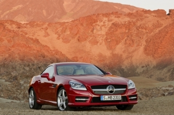 Mercedes-Benz SLK-Class SLK350 Roadster Coupe