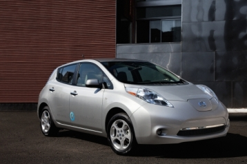 Nissan Leaf Electric Sedan