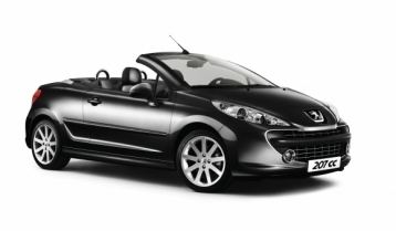 Peugeot 207 CC Convertible Coupe