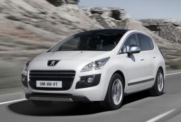 Peugeot 3008 Hybrid4 Sedan Hybrid Wagon